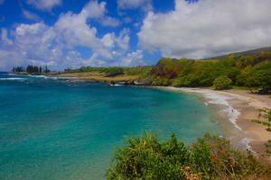 best beaches in maui - hamoa beach maui hawaii